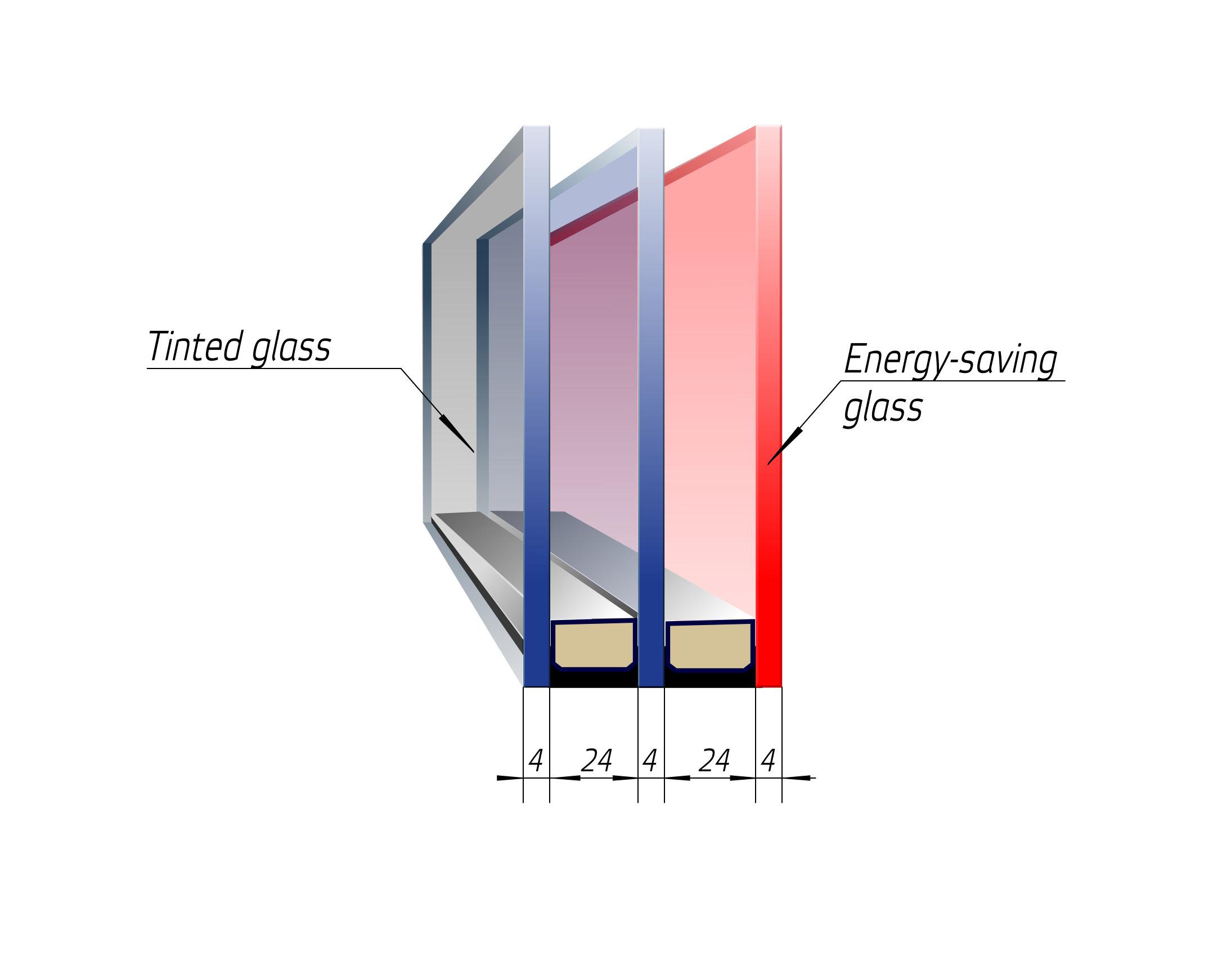 double-glazed unit door Bulat