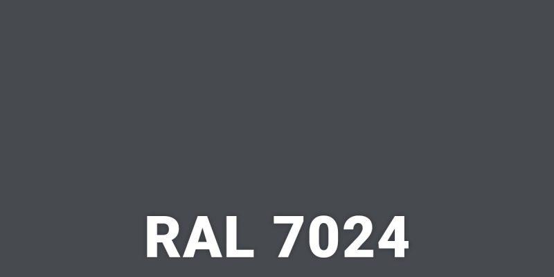 Новий колір RAL – 7024 – Антрацит