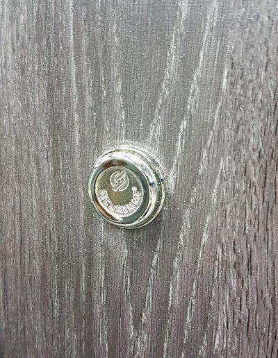 Security 517 peephole inner side