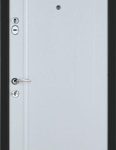 К-6 LX mod.218 Дуб графіт-Біла текстура