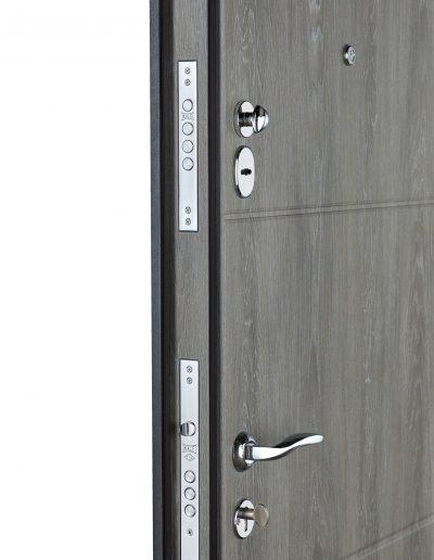 К-6 LX мод.411-190 Бетон темний (вст.ДШ Графіт)-Дуб шале сивий