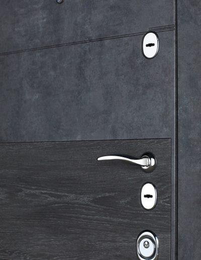Maximum 412-190 Мрамор темний (inbuiltДШ Графіт)-Мрамор сірий