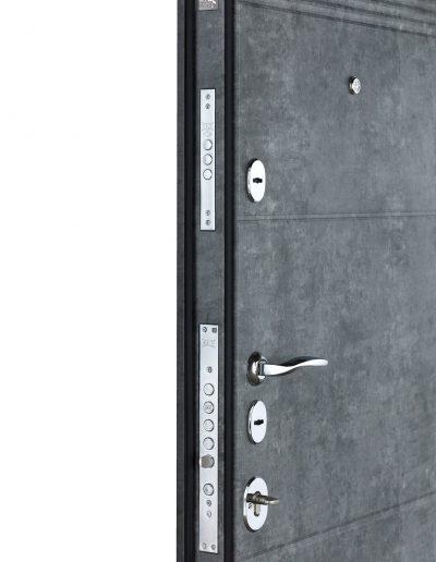 Максимум 412-190 Мрамор темний (вмонт.ДШ Графіт)-Мрамор сірий