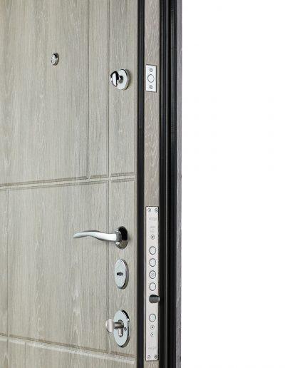 Олимп 166 Дуб шале графіт-Дуб шале сивий