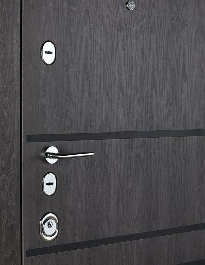 Сек'юриті 517 (чорн.молд.) Дуб немо карбон-Дуб немо сріблястий