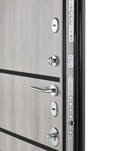 Security 517 (black molding) Дуб немо карбон-Дуб немо сріблястий